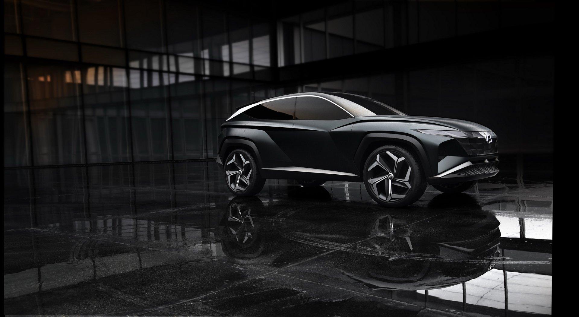 Hyundai Vision T Suv Concept La Show 2