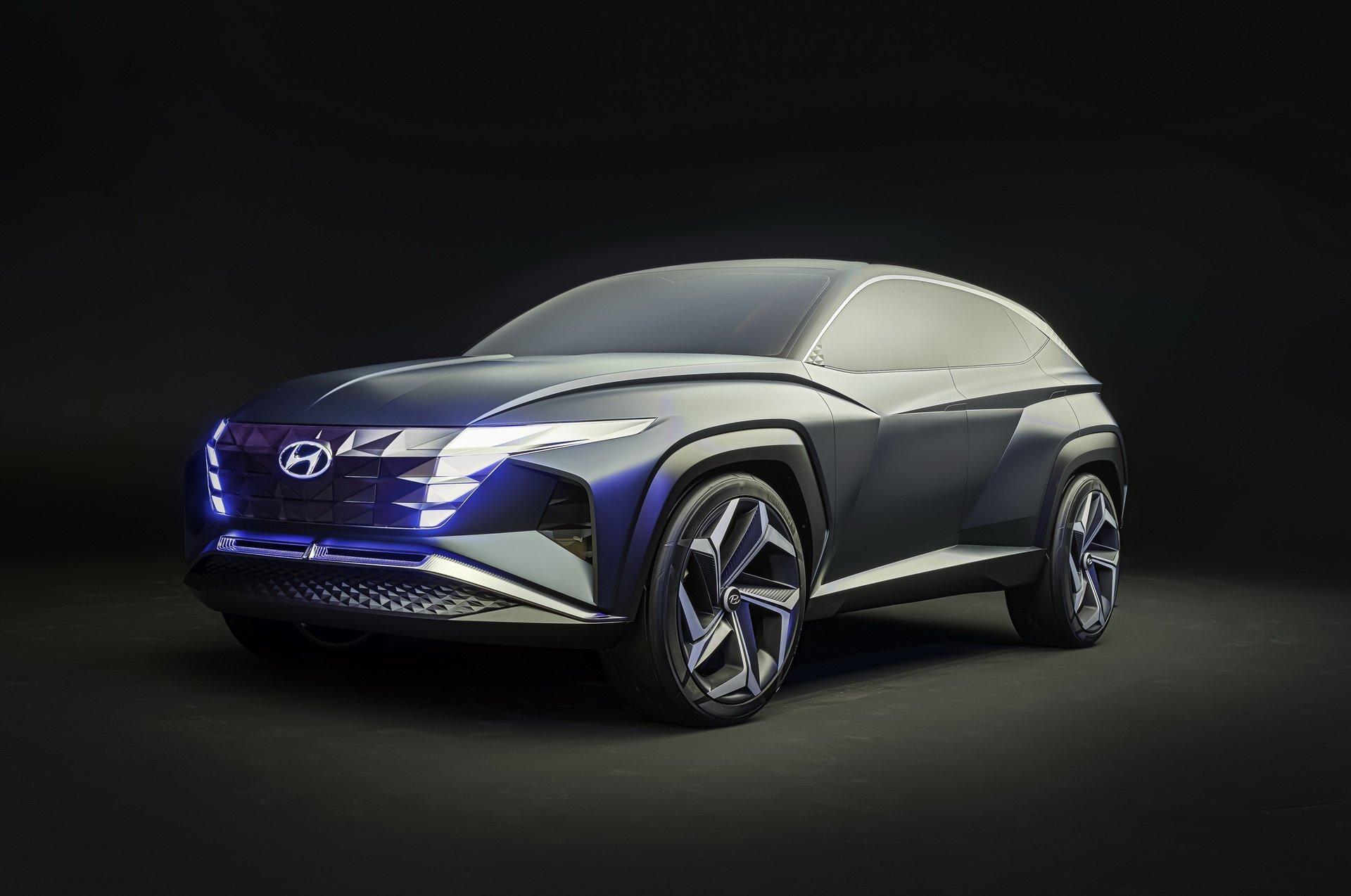 Hyundai Vision T Suv Concept La Show 5