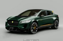 El Jaguar I-Pace se hace más salvaje con la ayuda de Lister y se convierte en el SUV-E Concept