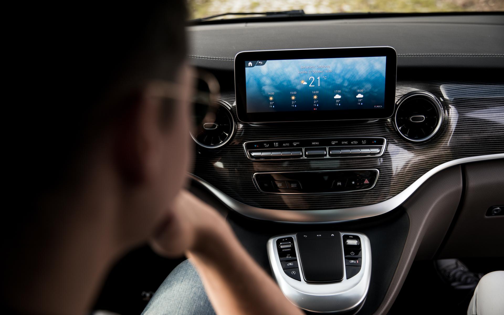 Mbux Sistema Inforentretenimiento Mercedes 2