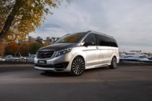 Black Crystal, así se llama la nueva Mercedes-Benz Clase V de Larte Design