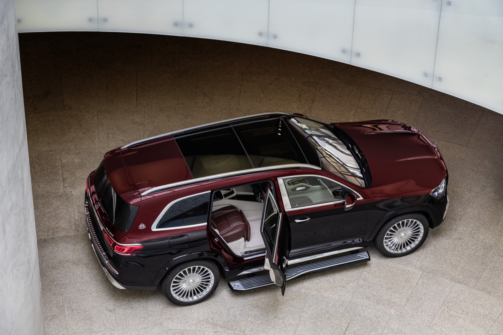 Mercedes Maybach Gls 600 4matic