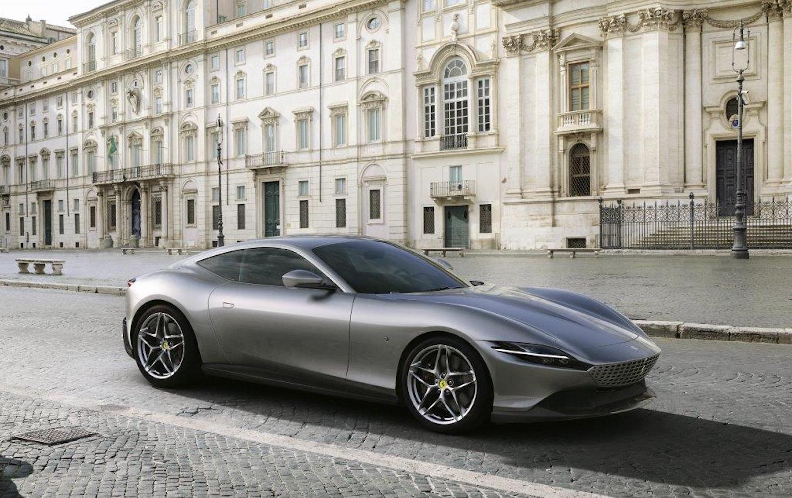 Nuevo Ferrari Roma 1