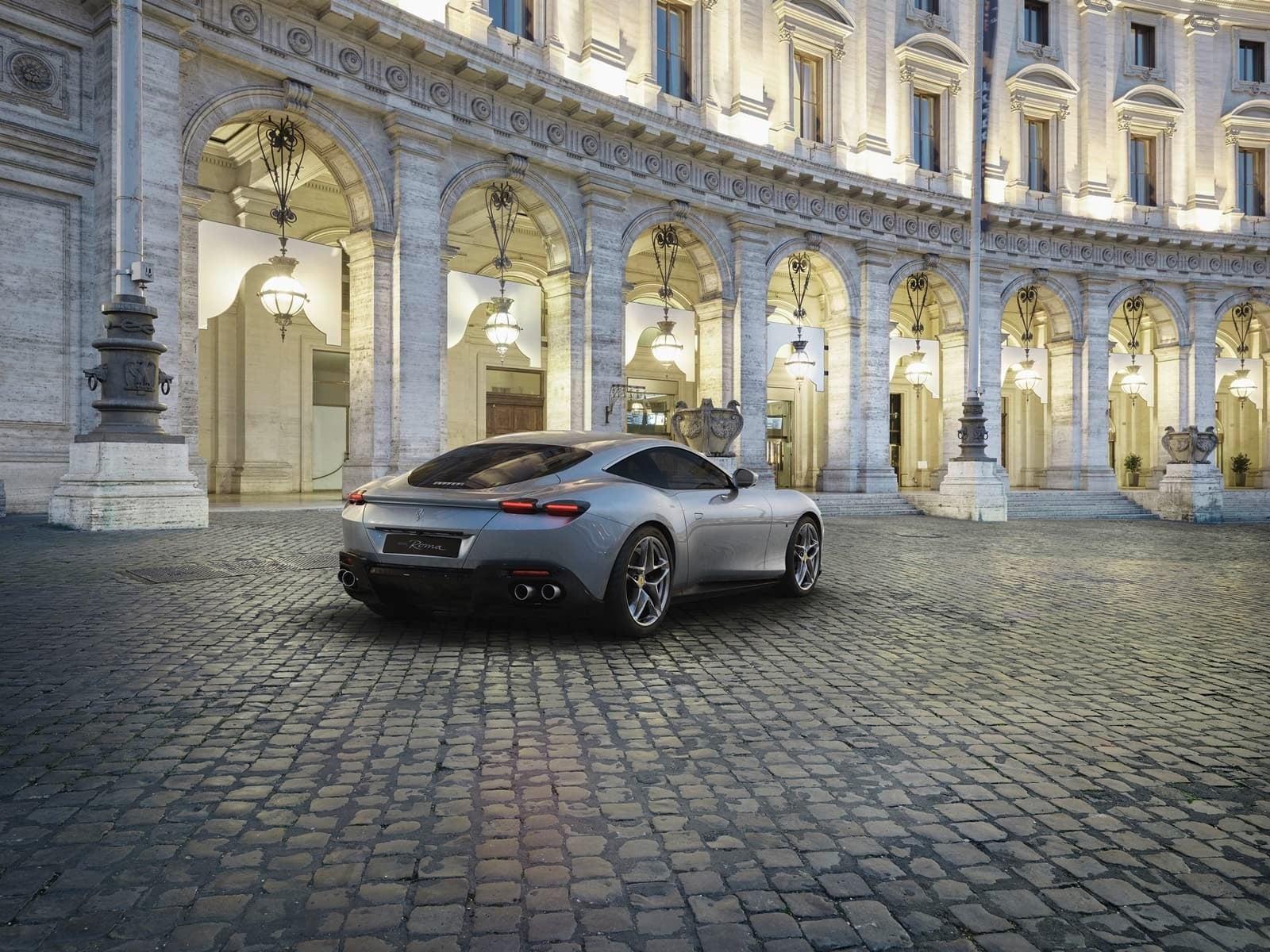 Nuevo Ferrari Roma 3