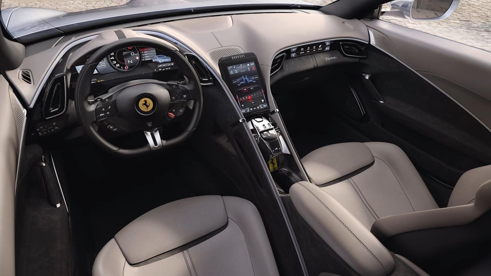Nuevo Ferrari Roma 4