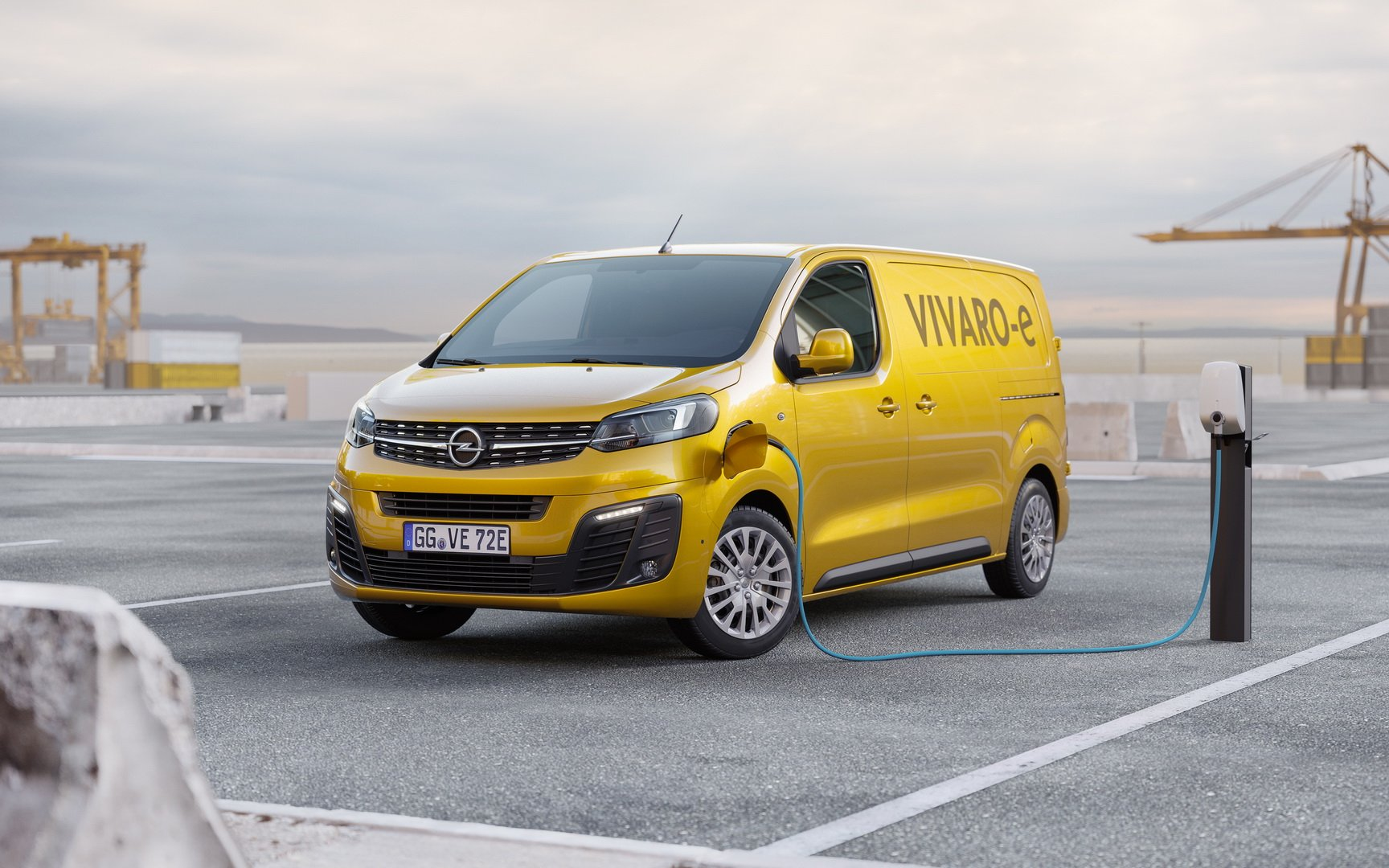Opel Vivaro E Presentacion