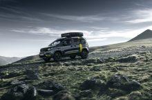 Peugeot Rifter 4×4 Concept: una camper de lo más aventurera