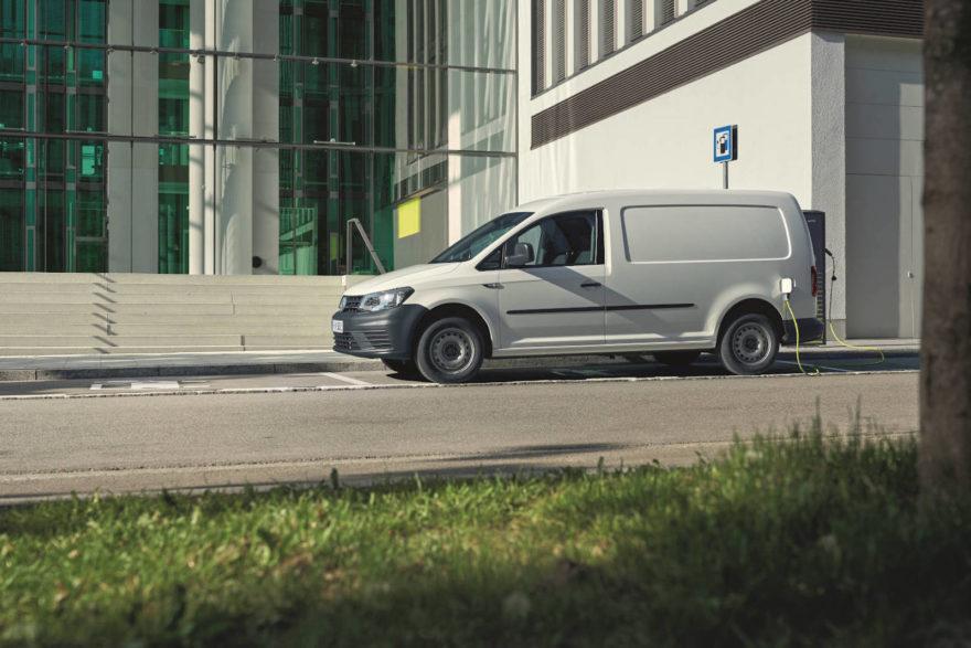 Volkswagen Caddy Electrico Abt 1