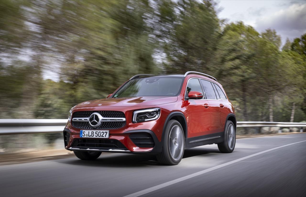 Mercedes Benz Glb + Mercedes Amg Glb 35 @ Andalusia 2019