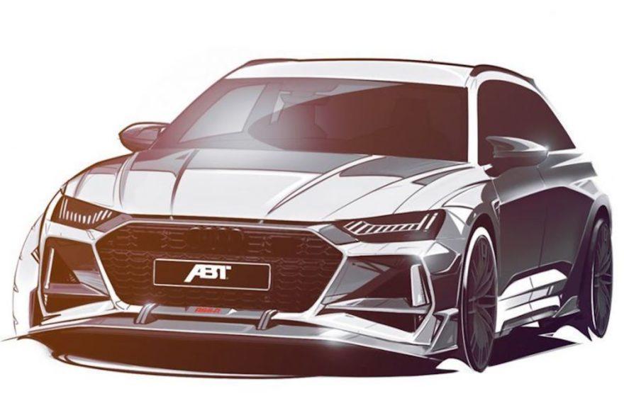 Audi Rs6 Abt Teaser 1