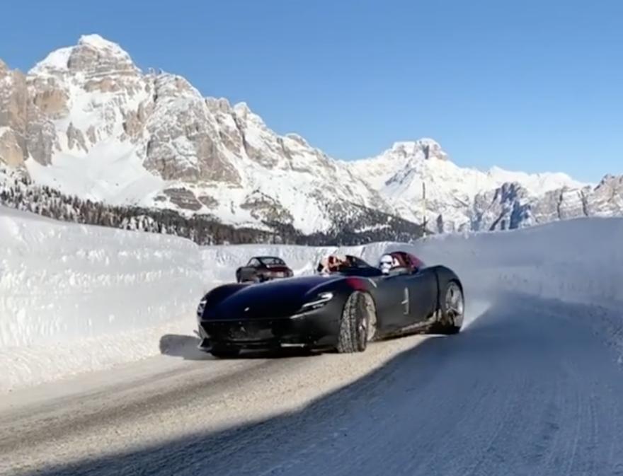 Ferrari Monza Sp2 Drift 2