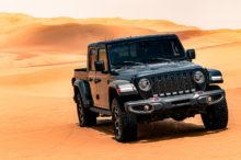 Jeep Gladiator Limited Launch Edition, la versión dedicada a Oriente Medio que rompe moldes