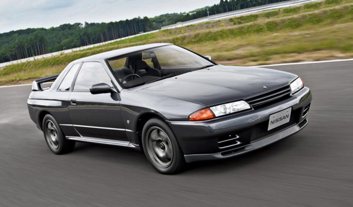 Nissan Gtr 50 Años R34 R33 R32 R31 Skyline Gt R 7