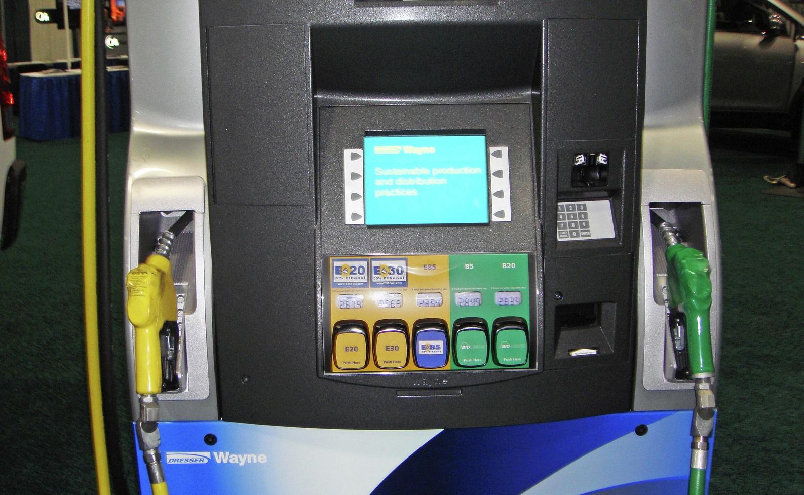 Surtidor Biodiésel y Bioetanol
