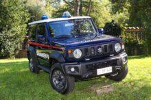 El Suzuki Jimny, deseo de muchos, ha fichado por la policía italiana