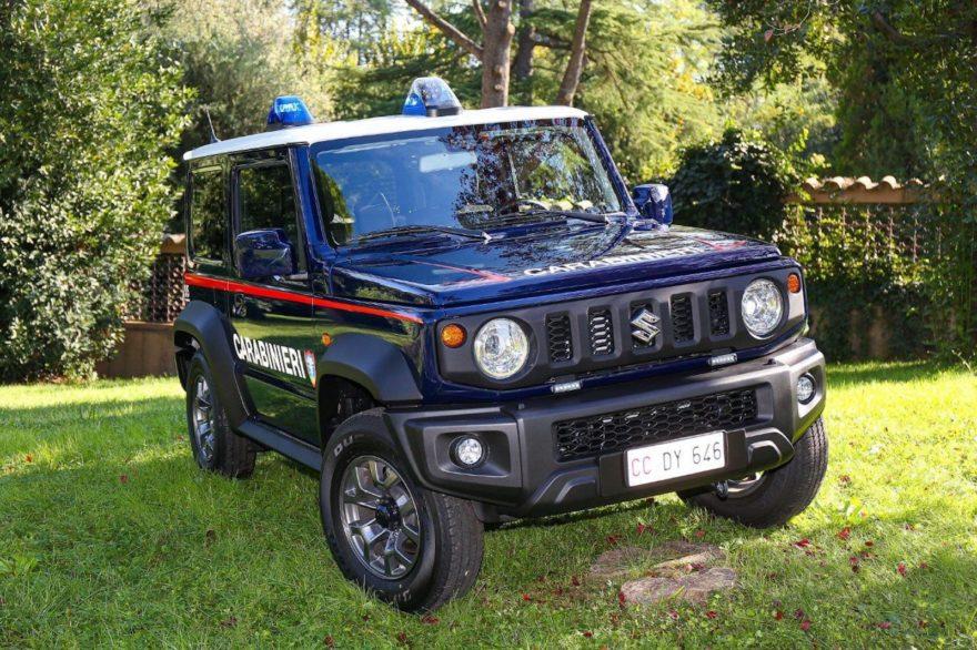 Suzuki Jimny Carabinieri 2