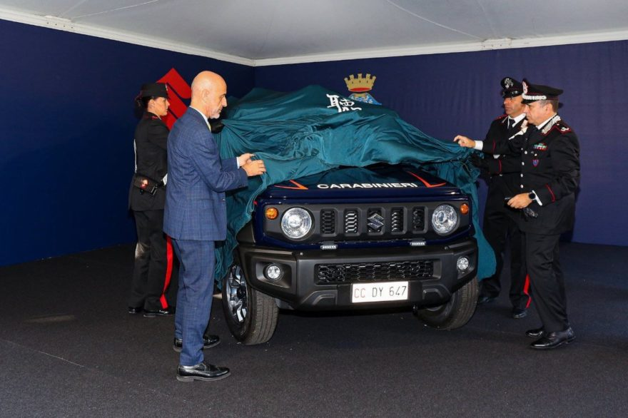 Suzuki Jimny Carabinieri 3