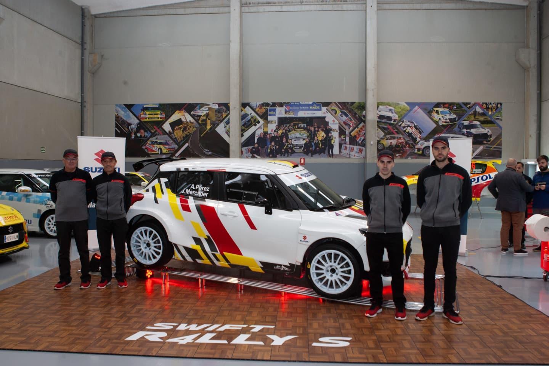 Suzuki Rally Hibrido