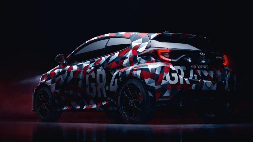 Toyota Yaris Gr 4 Presentacion 1
