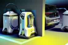 Volkswagen y el futuro eléctrico: los robots cargarán nuestro coche en cualquier parking