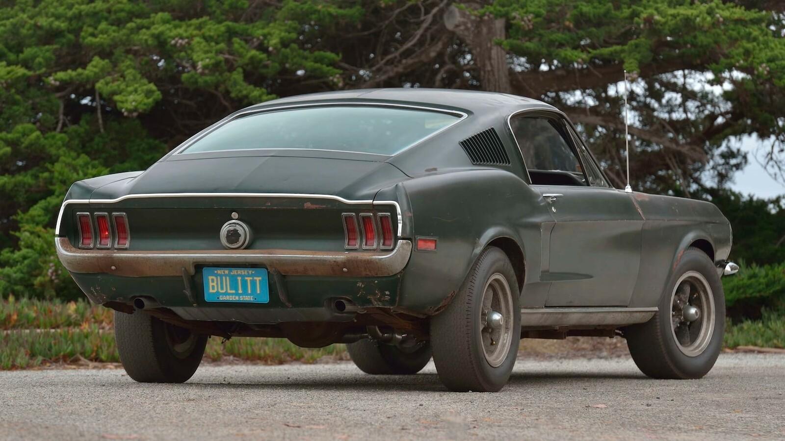 1968 Ford Mustang Gt From Bullitt 3
