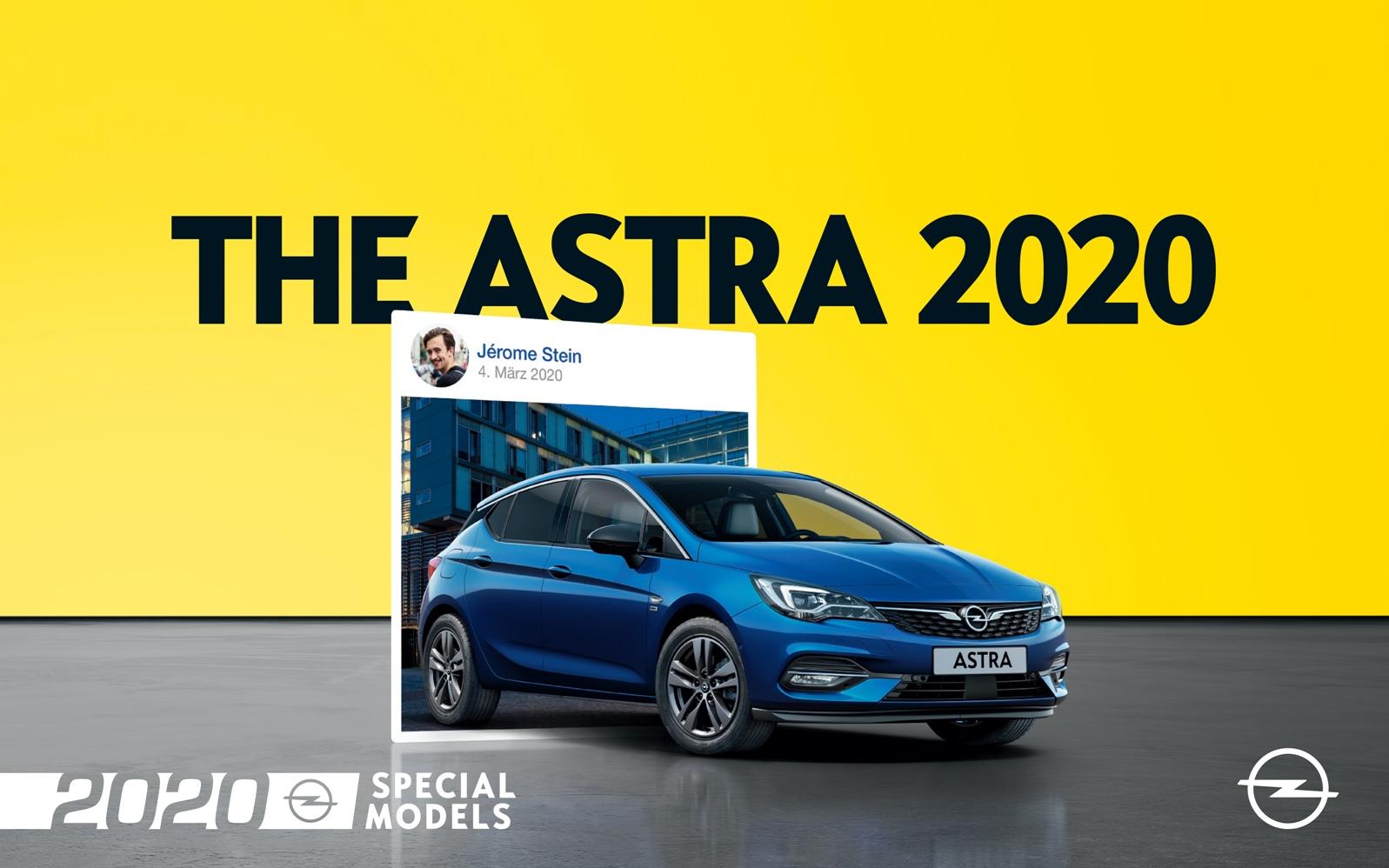 Opel Astra 2020 Special Models