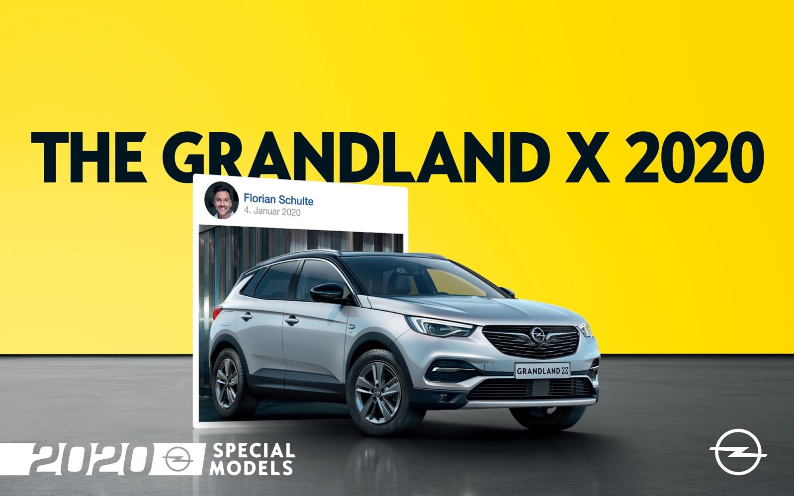 Opel Grandland X 2020 Special Models