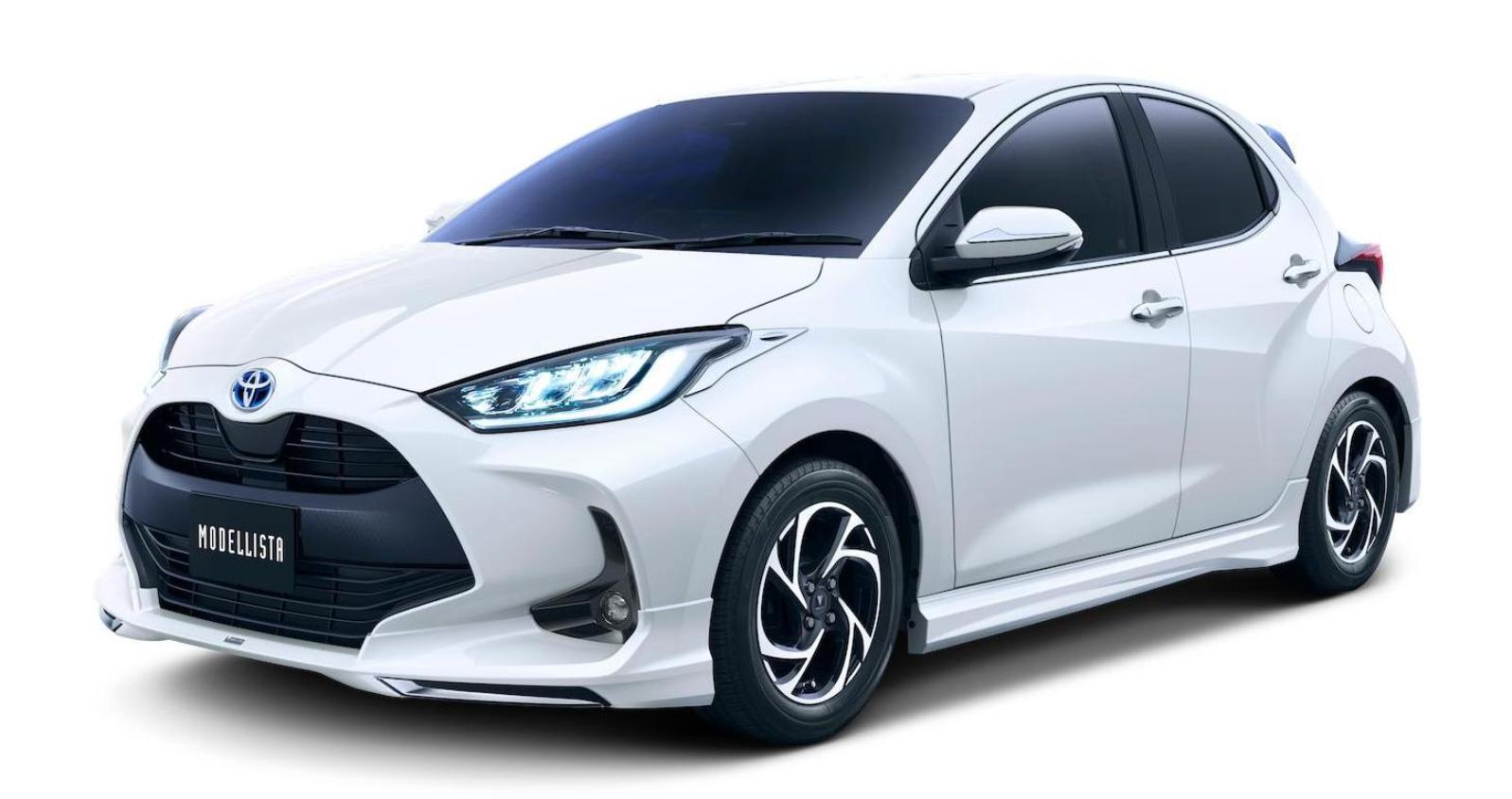 Toyota Yaris Tdr Modellista