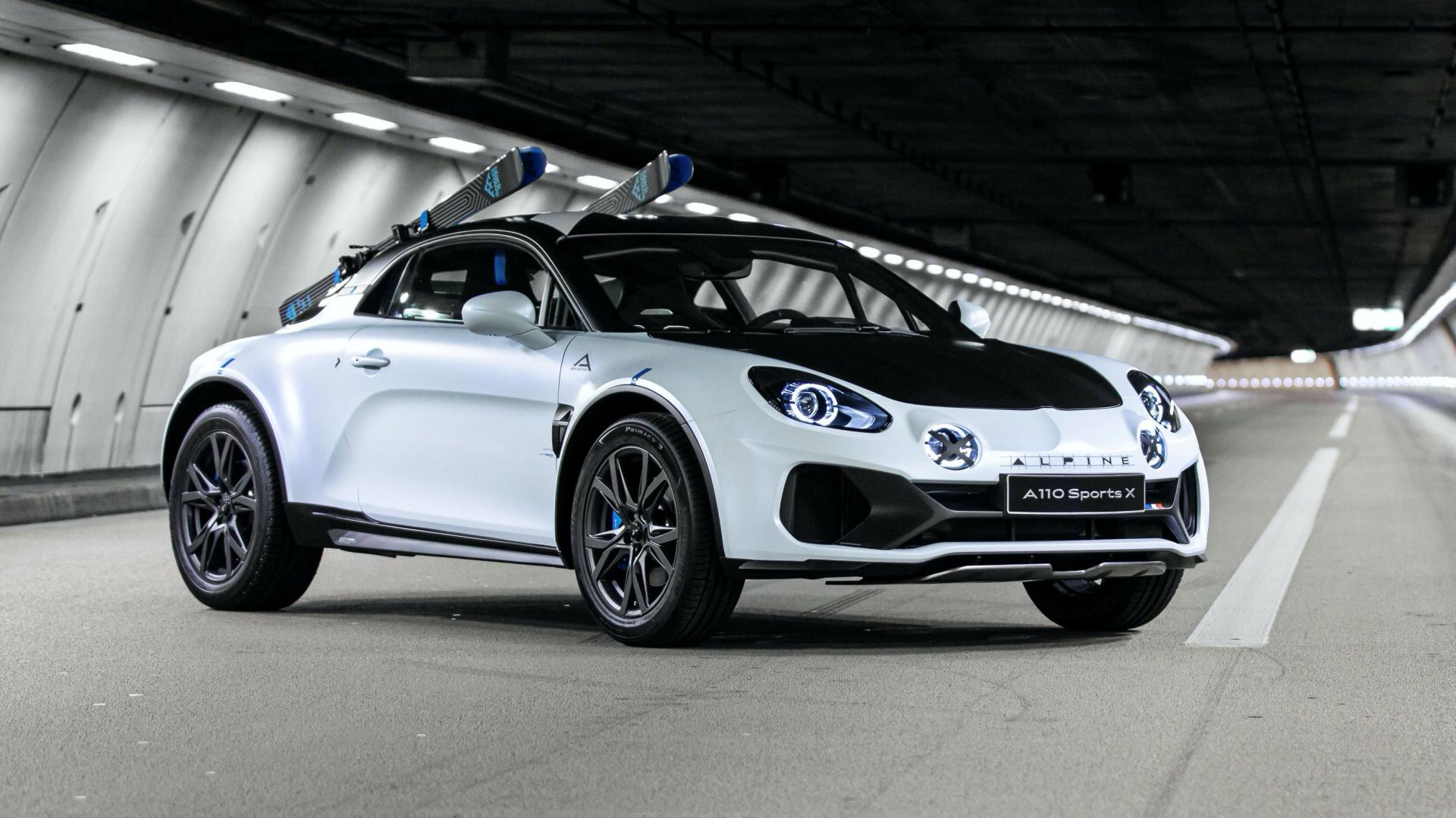 Alpine A110 Sportsx Concept Car (11)