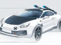 Alpine A110 Sportsx Concept Car (3)