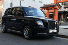 LEVC TX, el taxi electrificado de Londres desembarca en Japón