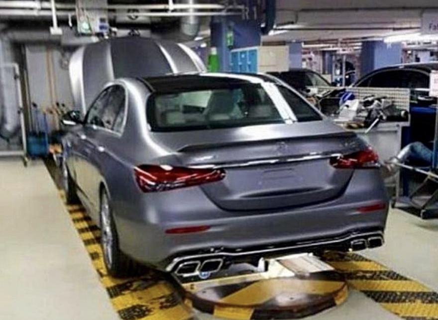 Mercedes Amg E 63 Filtracion 1