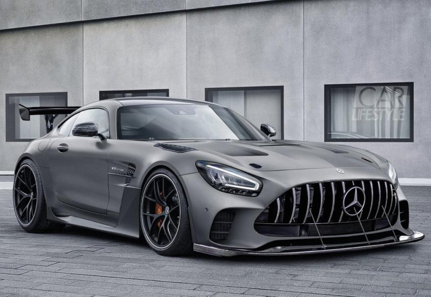 Mercedes Amg Gt Black Series Render 1