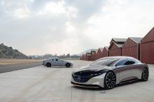 El Nuevo Mercedes EQS se deja ver junto al Vision EQS