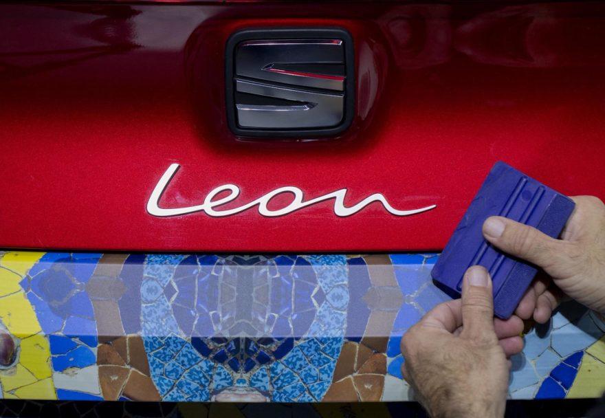 Seat Leon Camuflaje Barcelona 1