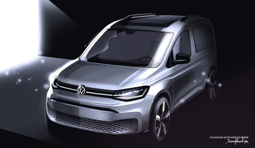 Volkswagen Caddy Boceto 1