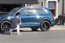 El restyling del Volkswagen Tiguan cazado antes de tiempo mostrando aires de Touareg