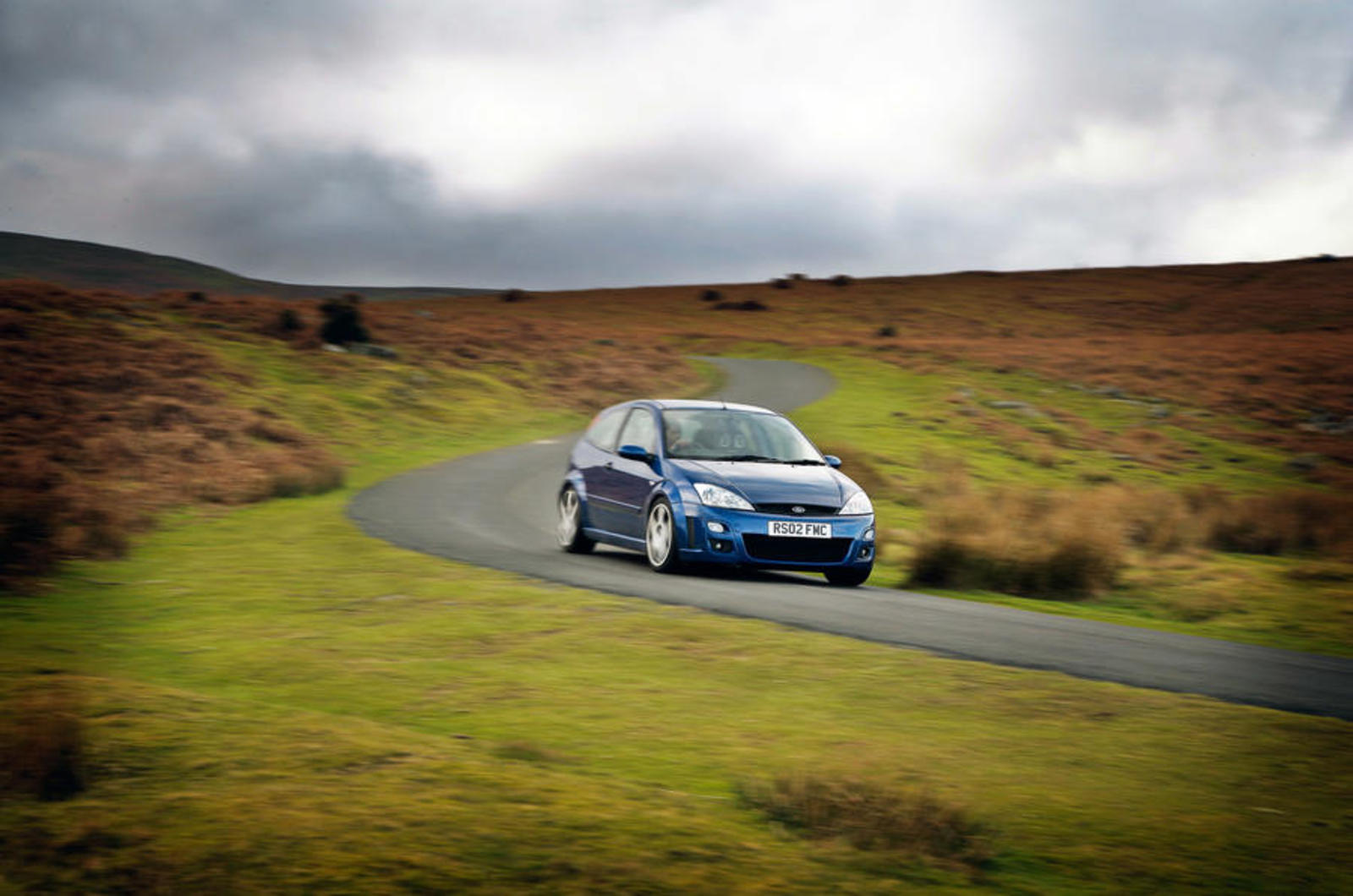 44 Ford Focus Rs Mk1 Tracking Front