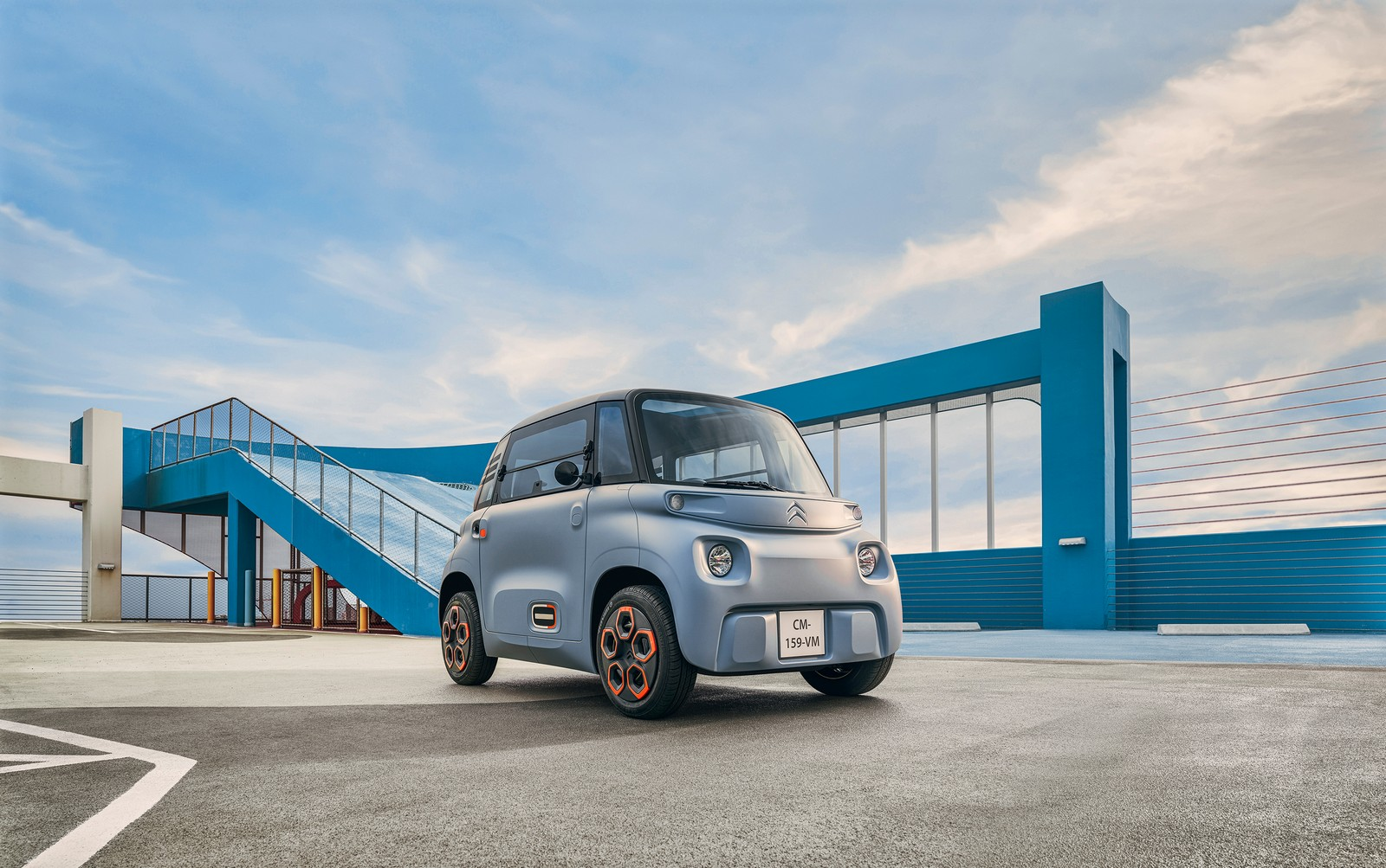 Citroën AMI coche eléctrico sin carnet