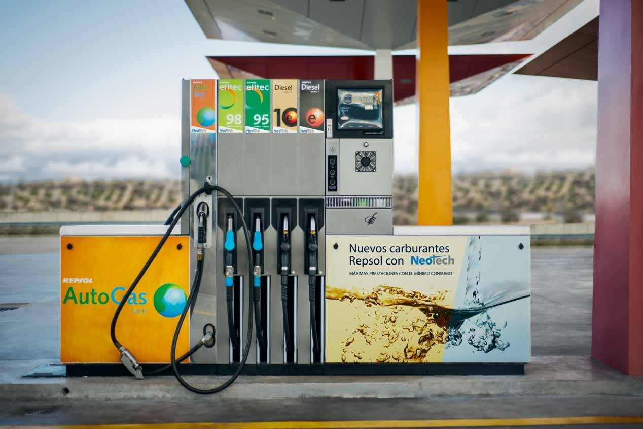 Gasolinera Glp