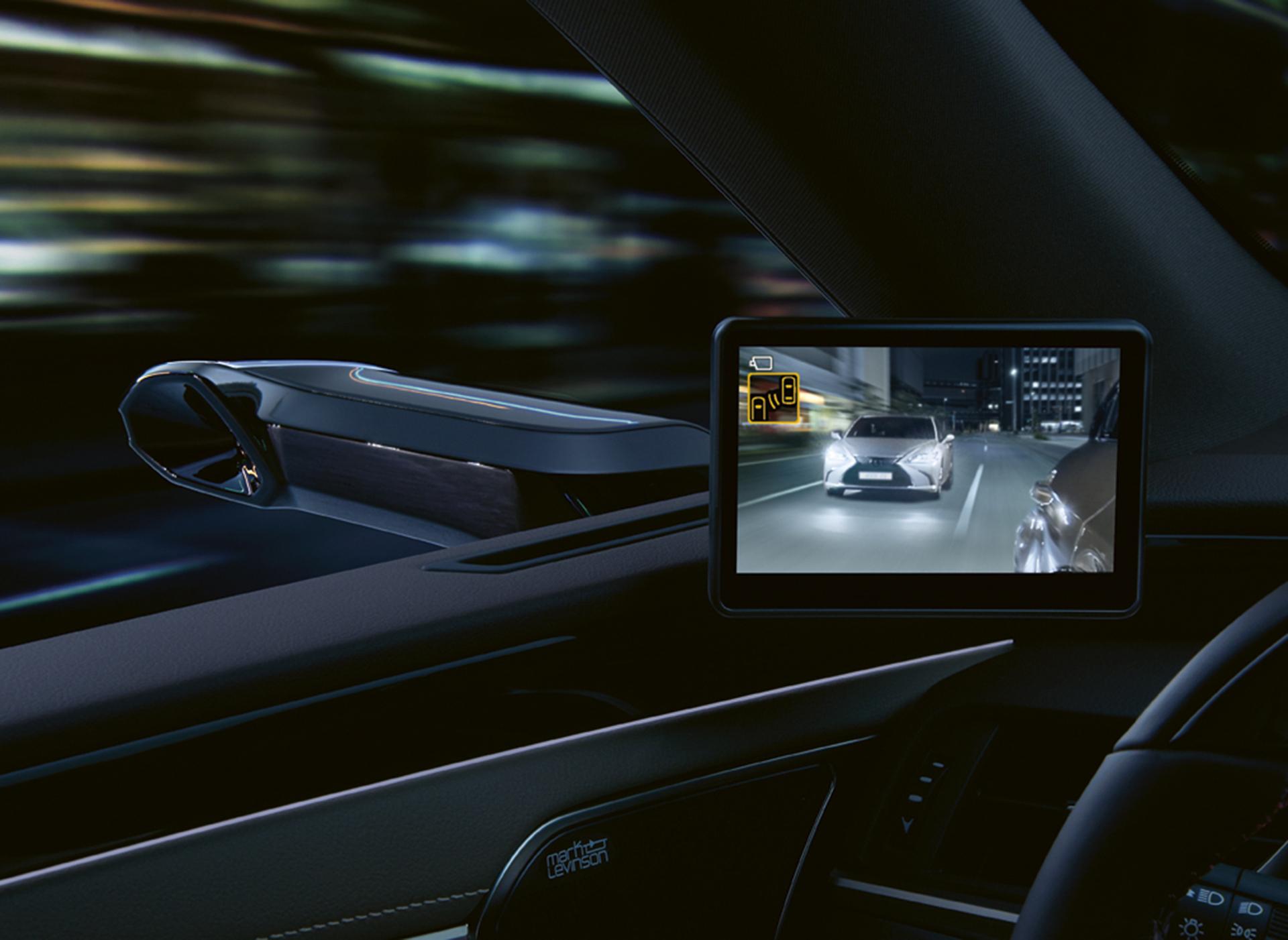 Lexus Es 300h Camaras Retrovisores 3