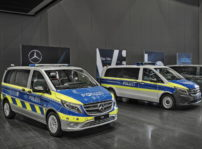 Mercedes Benz Policia Coches Electricos (1)