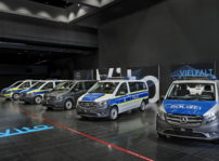 Mercedes Benz Policia Coches Electricos (4)