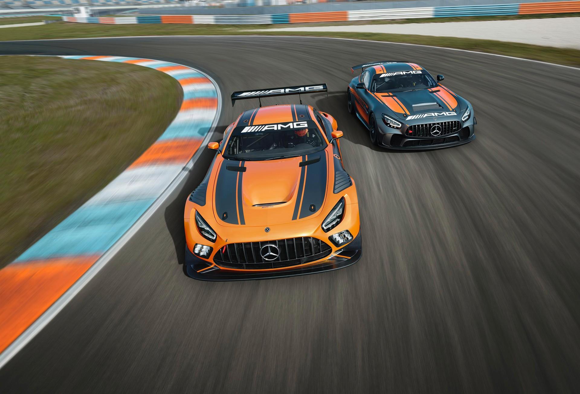 2020 Mercedes Amg Gt4 5