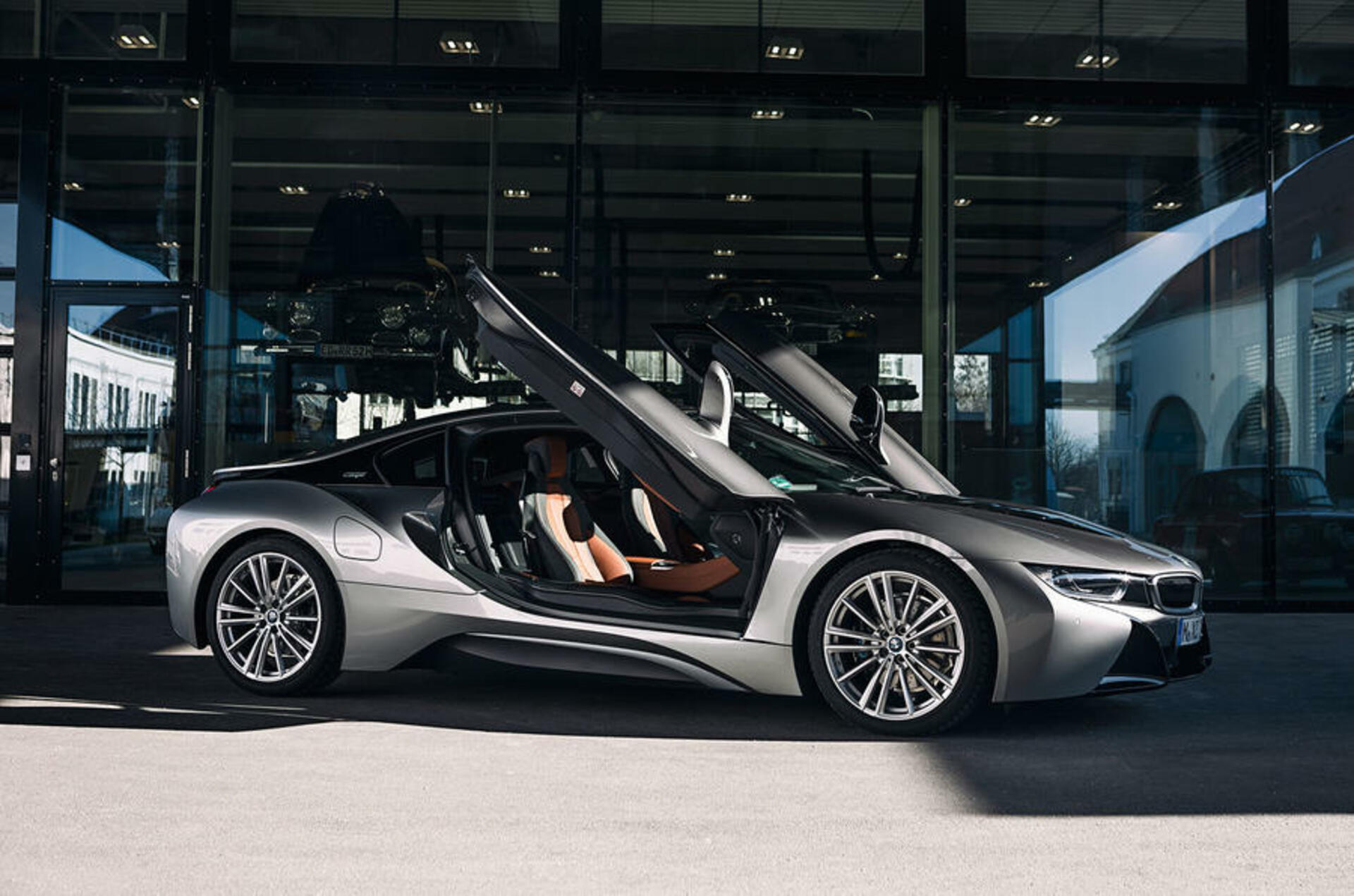 Bmw I8 End Of Production Doors
