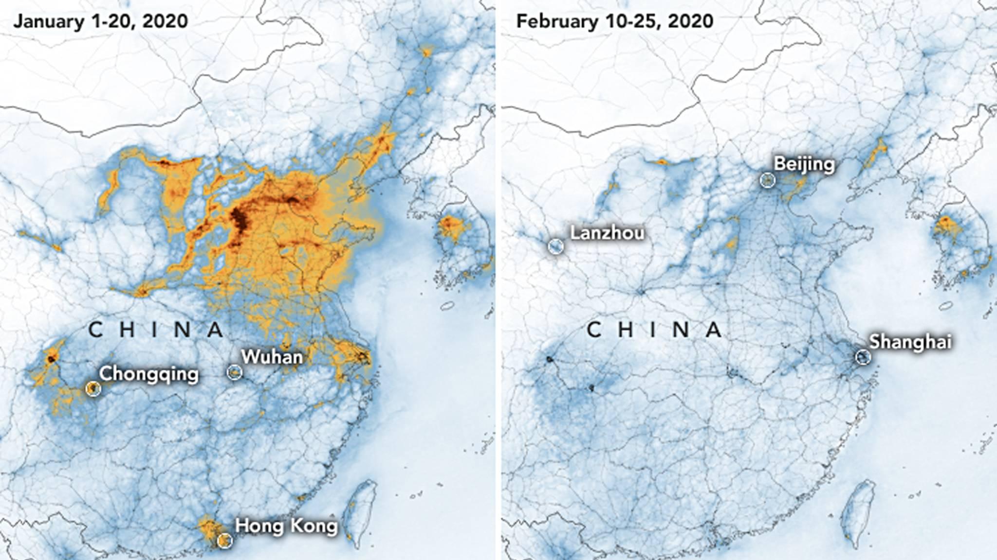Contaminacion China Coronavirus