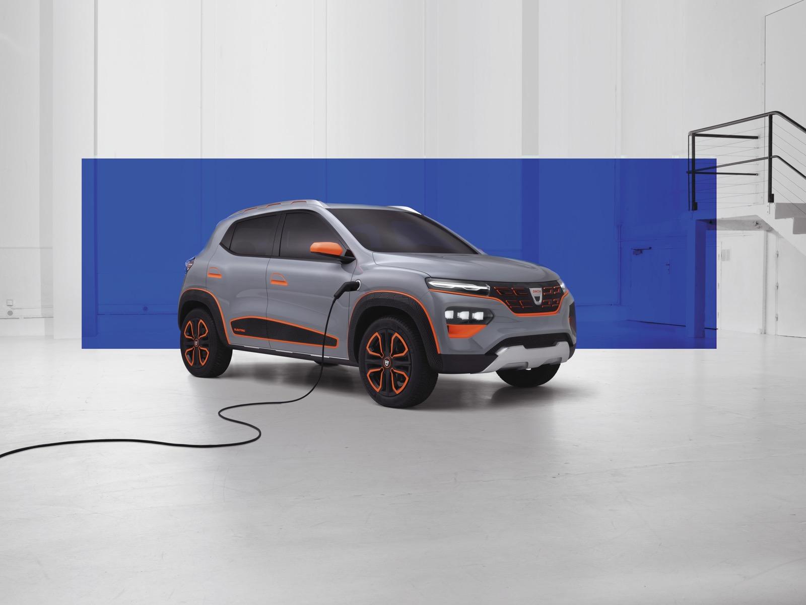 Dacia Spring Electric Concept 5