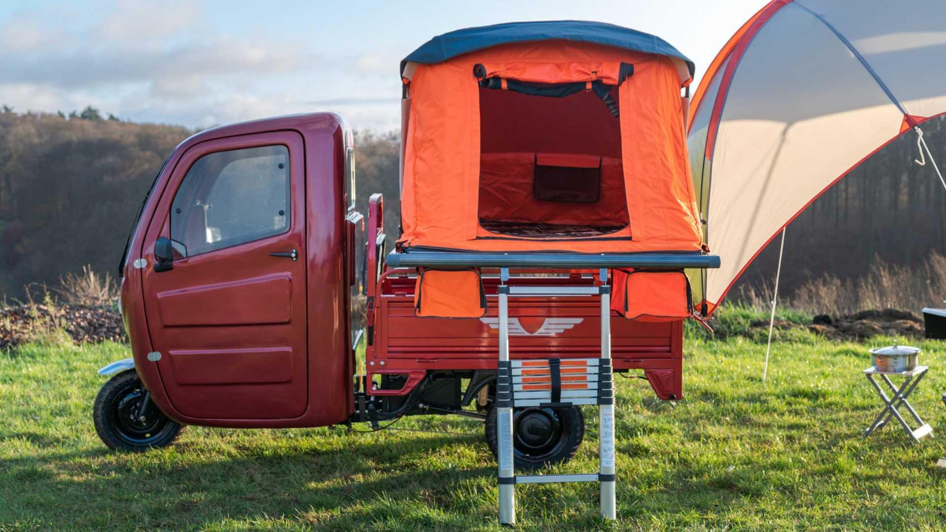 Elektro Frosch Electrico Camper