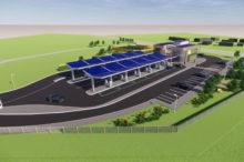 Así serán las nuevas estaciones de servicio solares que propone Gridserve