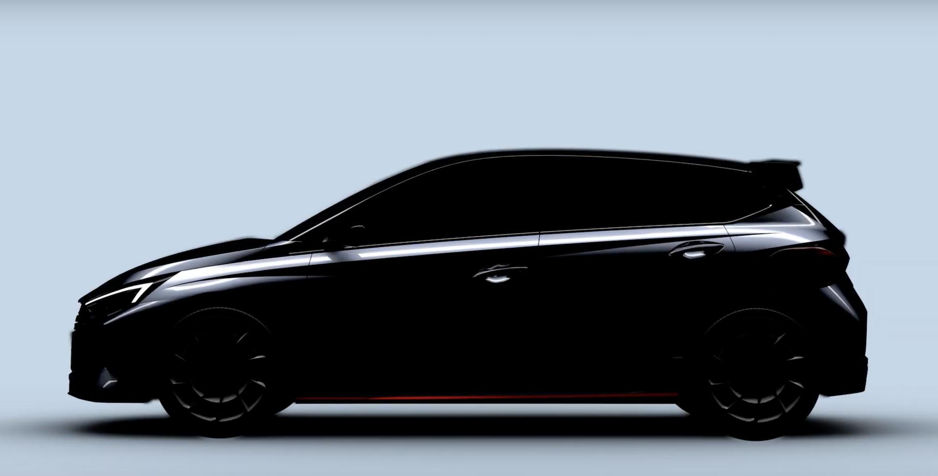 Hyundai I20n Teaser 1
